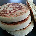 Batbout / pain marocain à la poêle