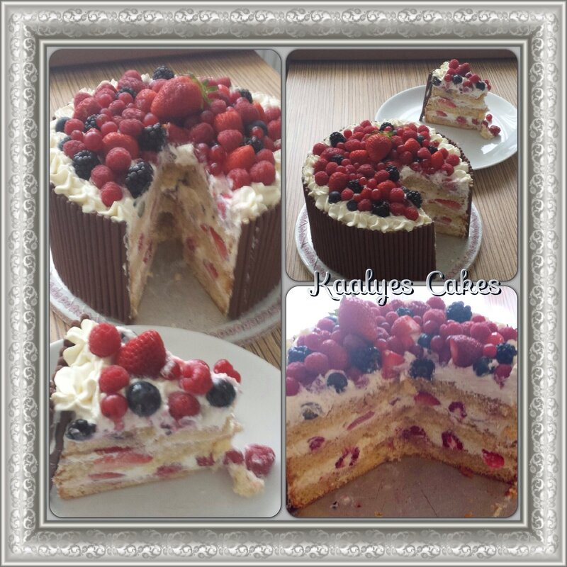 Cr me chantilly mascarpone kaalyes cakes - Couler une douille ...