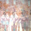 Bonampak - Murals inside Temple of the Paintings