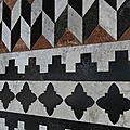 Mosaiques d' il duomo à sienne
