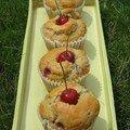 Muffins aux cerises de lilo