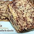Cake aux petits suisses et vermicelles de chocolat