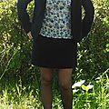 jupe molleton noir 4