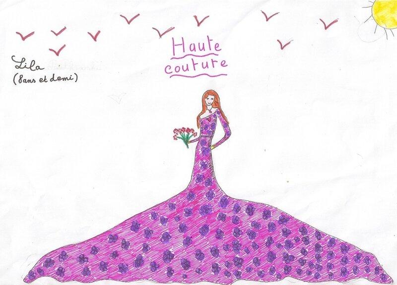 n°80-défi 154-Haute couture (Lila)