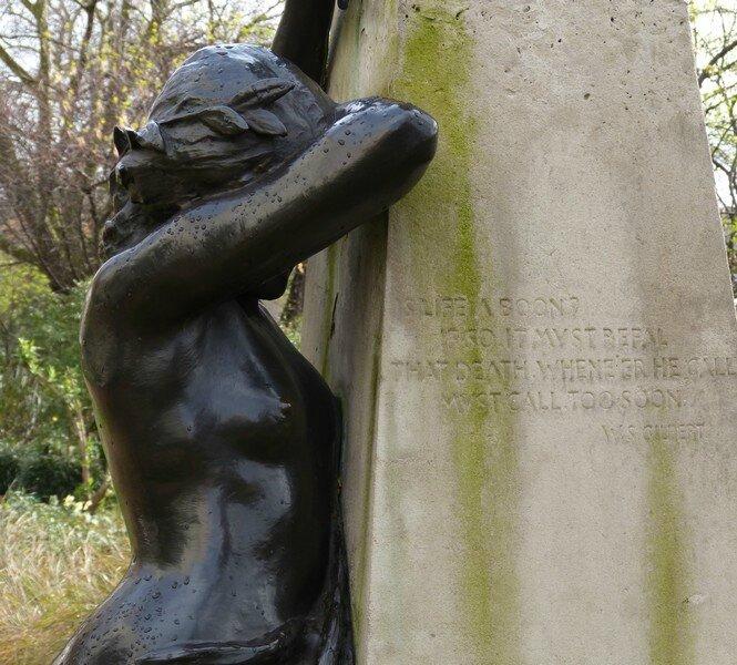 statue arthur sullivanbis