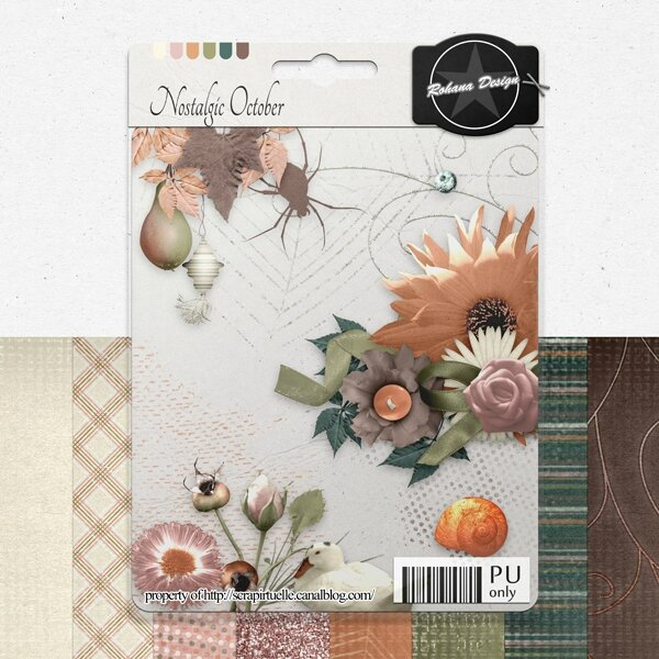 "Free ""Nostalgic October"" from Rohana Designs - {PU}"