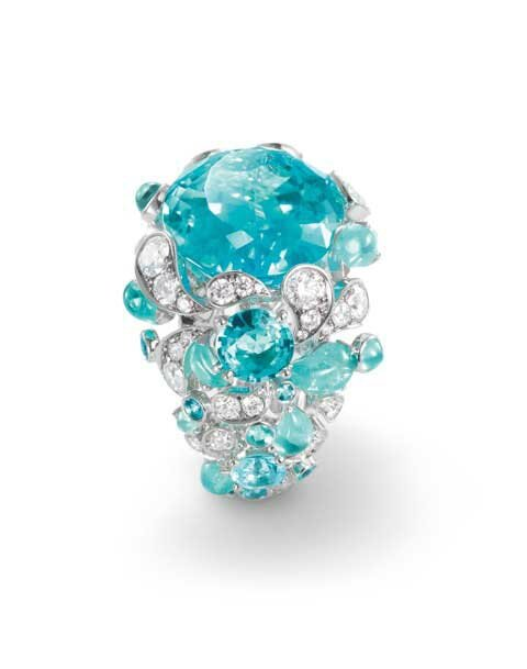 Chaumet-Paraiba-tourmaline-and-diamond-ring