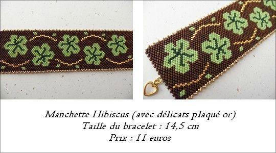 Manchette Hibiscus