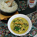 Curry de tofu & légumes - curry de tofu & verduras