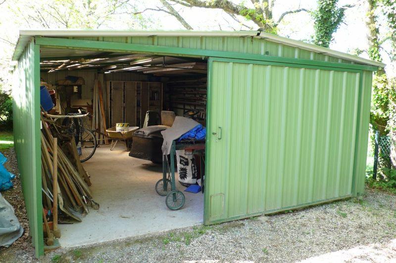 garage en t le de 25 m2 int rieur 1 photo de maison photos ext rieurs maison proche besne