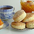 Scones for tea time...comme à londres!