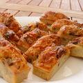 Cake au bacon, noix et pruneaux de christophe felder