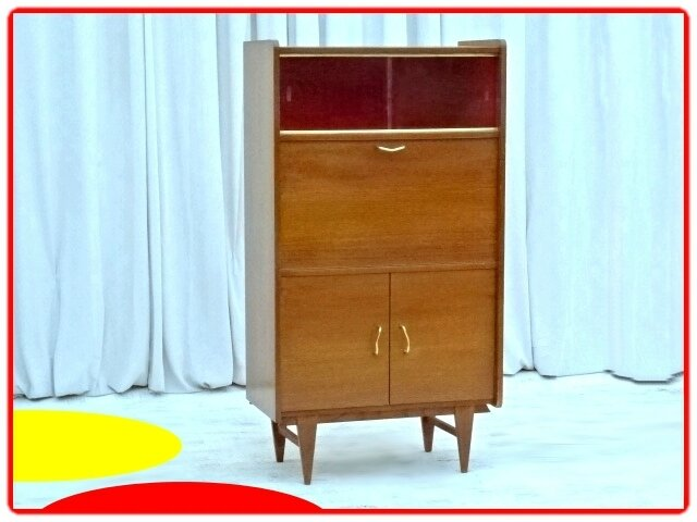 secretaire bar meuble tv vintage 1970 vendu meubles et. Black Bedroom Furniture Sets. Home Design Ideas