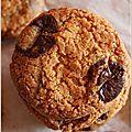 La recette de cookies au chocolat de mouni