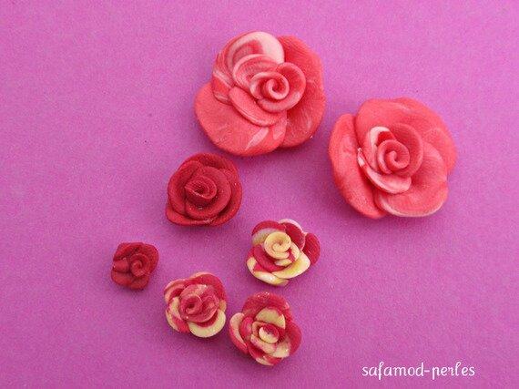 fleurs-fimo