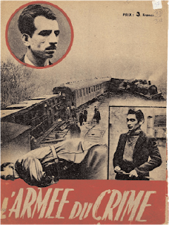 """""""L'Armée du crime"""", une des nombreuses brochures éditées lors du procès pour stigmatiser les """"terroristes"""" de la MOI"""
