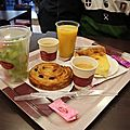 Petit-déjeuner sur les Champs, lendemain du concert de David Bartholomé. Mai 2012.