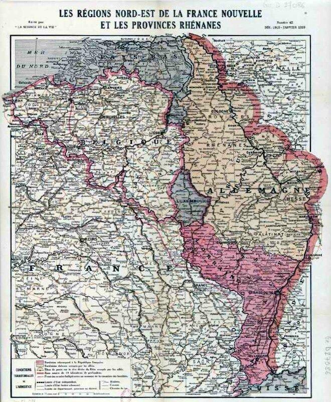 Carte N-E 1919