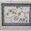 tableau fil de fer