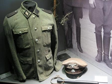 WWII German SS concentration camp uniform