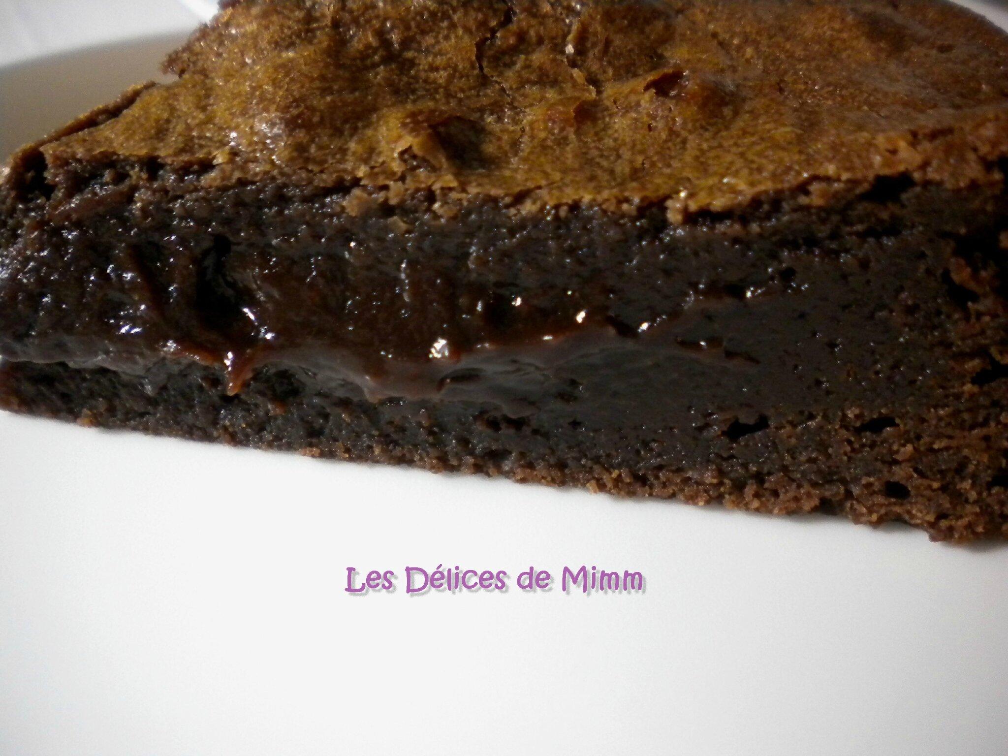 Recette gateau au chocolat tres fondant