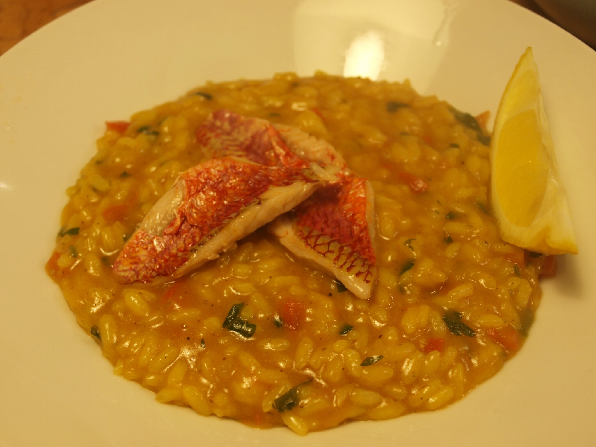 RISOTTO AUX FILETS DE ROUGETS  Blogs de cuisine