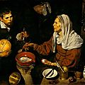Diego velázquez (1599–1660), an old woman cooking eggs, 1618