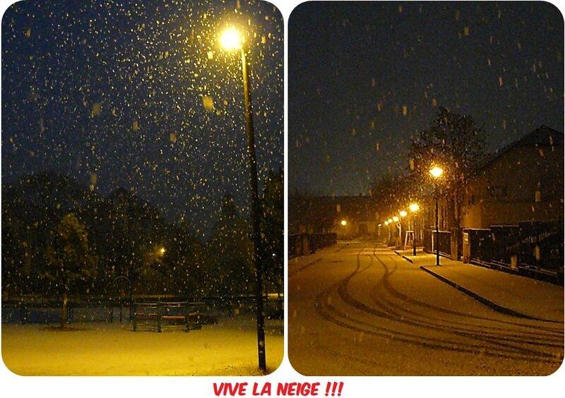 Quartier Drouot - Il neige