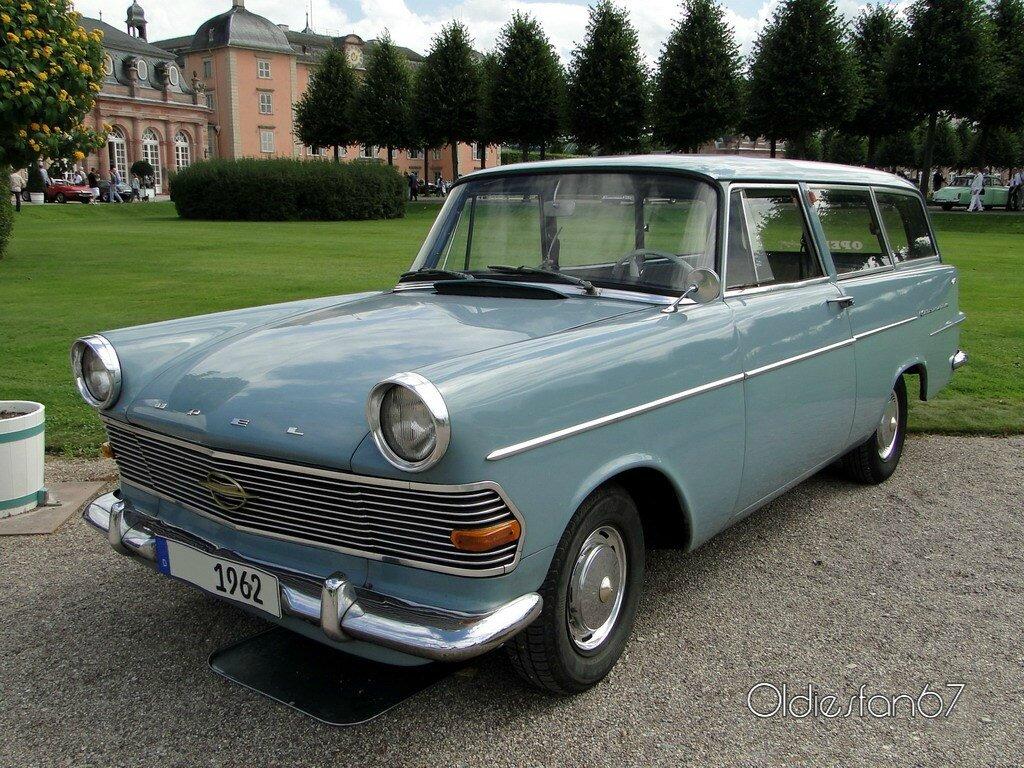 Opel Olympia P2 Caravan 1962 Oldiesfan67 Quot Mon Blog Auto Quot