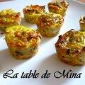 Petits gâteaux de thon, carottes et surimi