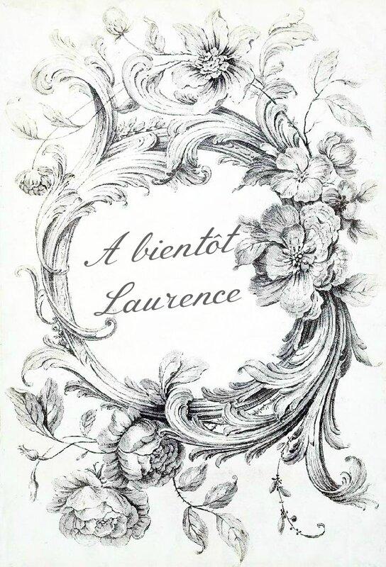 blason A bientôt Laurence
