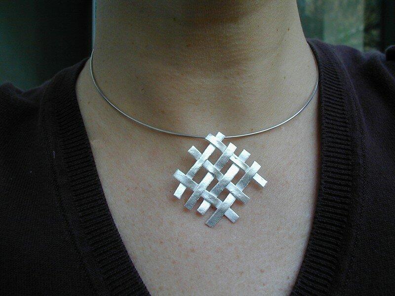 bijou tress 233 isa photo de projets des participantes les bijoux en p 226 te d argent de caro