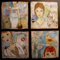 4 toiles / canvas