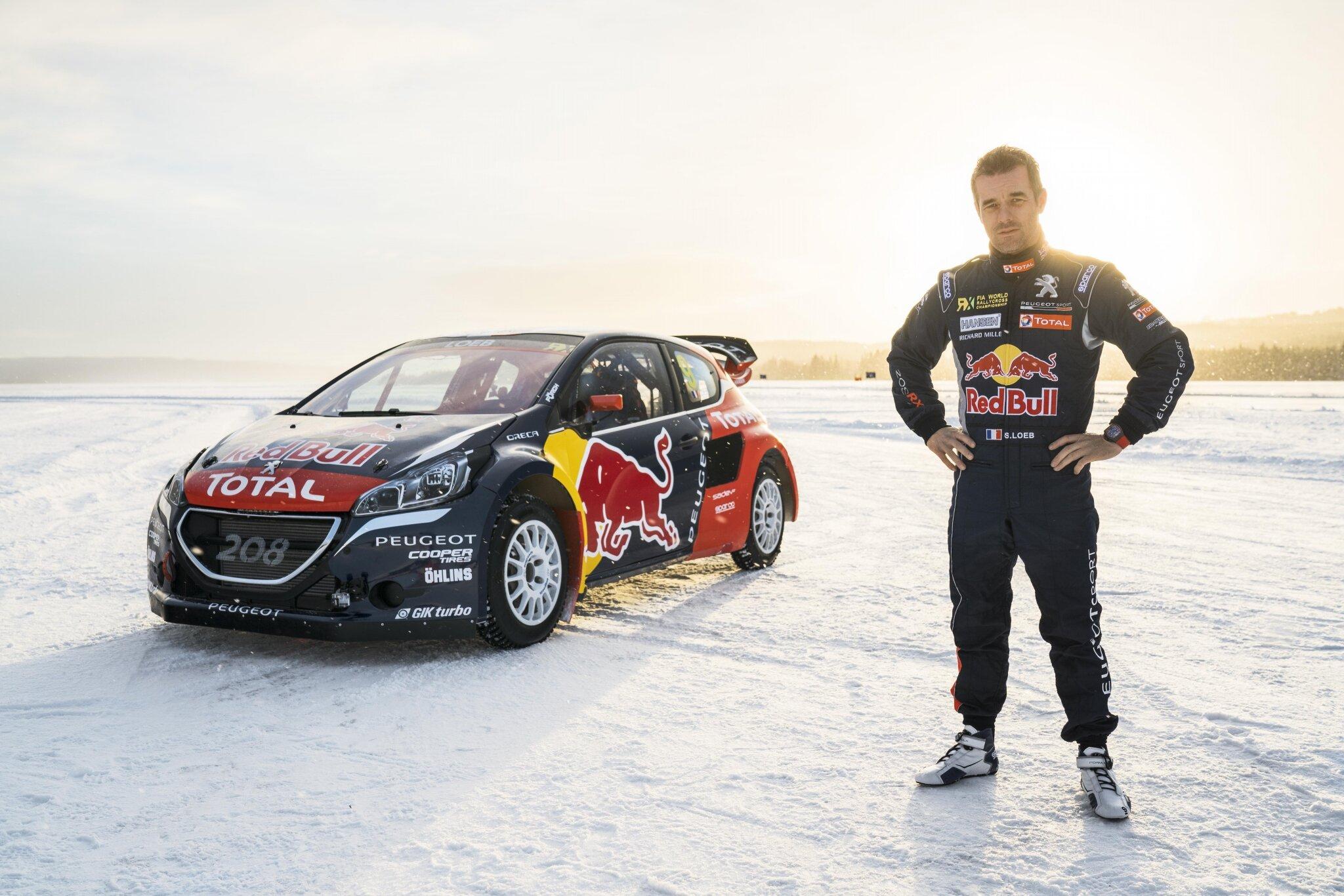Sébastien Loeb rejoint le Team Peugeot Hansen, l'équipe championne du monde de Rallycross
