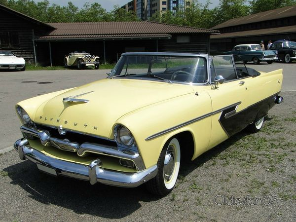 plymouth belvedere convertible 1956 3