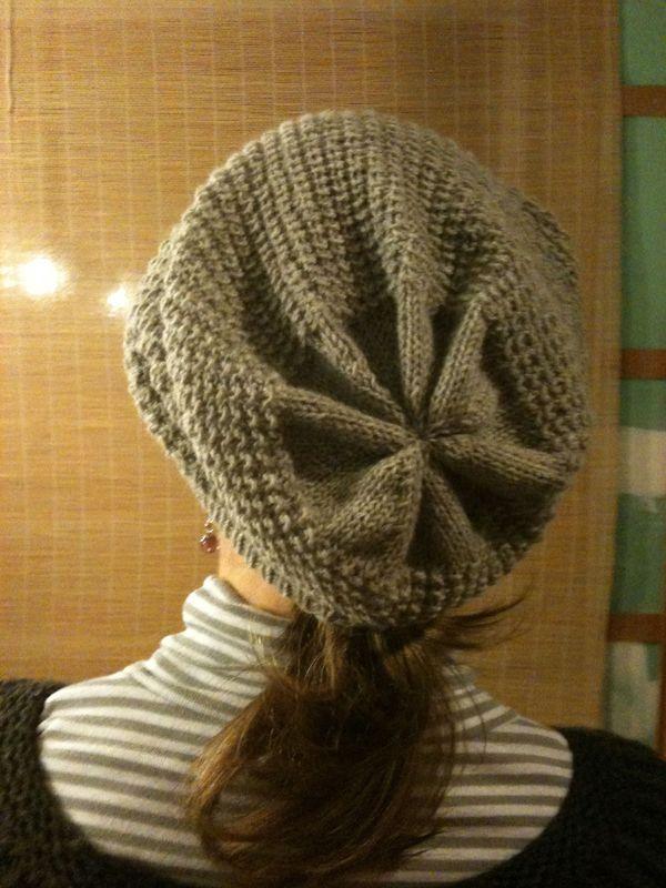 comment tricoter un bonnet loose