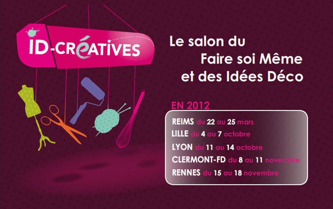 Salon id cr atives clairedelalune fa onneuse d 39 envies - Salon id creatives ...