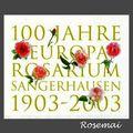La roseraie de Sangerhausen (Allemagne)