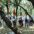 Dimanche 19 juillet 2015 à robion: cérémonie des fusillés du bois saint julien