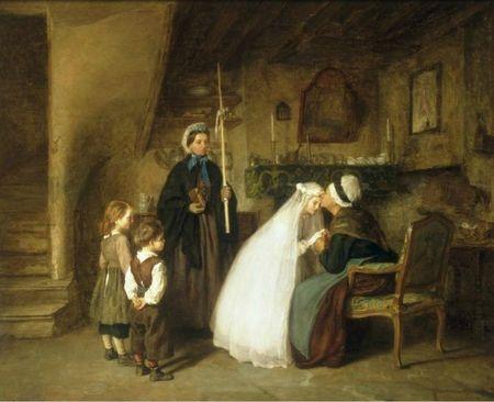 Frere Pierre Edouard La Premiere Communion