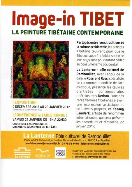 Annonce expo Rambouillet