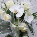 Bouquet de mariée Phalaenopsis bis