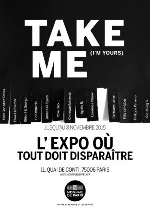 affiche-Take-Me-I-m-Yours-300x421
