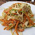 Le chao mein de tahiti