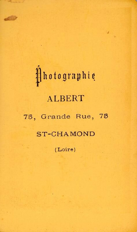 photographie Albert Grande Rue 76