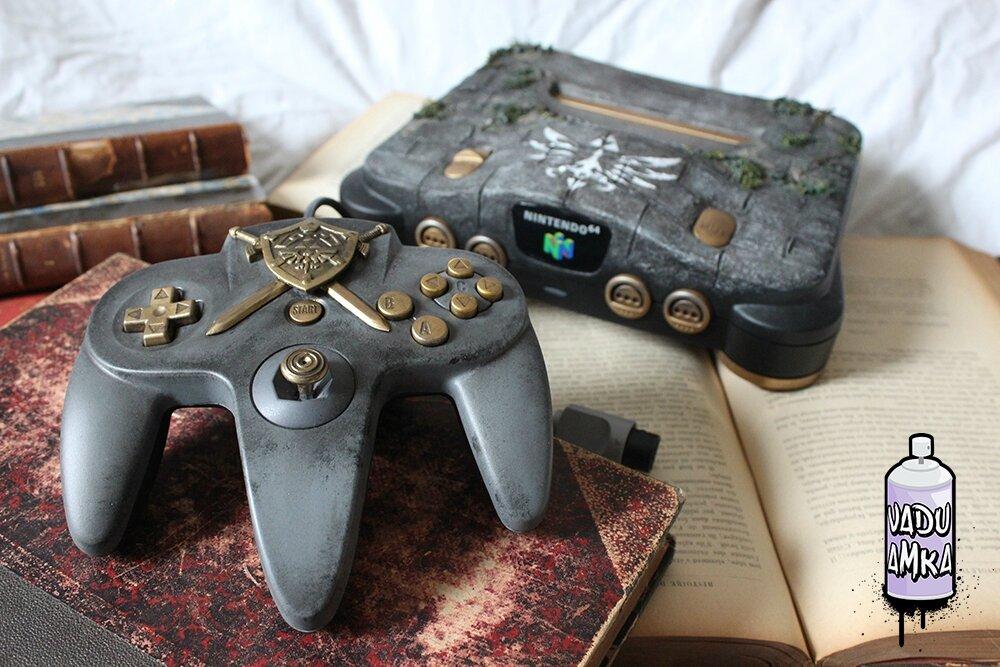 Nintendo 64 Old relic - Zelda theme