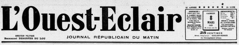Ouest Eclair 8 mars 1930_1