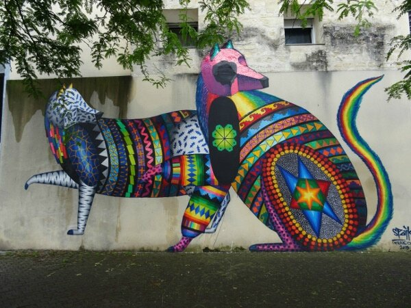 Street art bordeaux