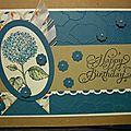 Une carte d'anniversaire !