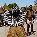 2011-s28 - masque 3 - sortie de masque (afrique en carte postale)